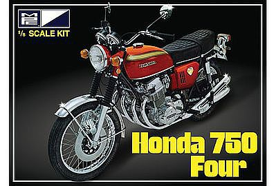 MPC by Ertl Honda 750 Four Motorcycle -- Plastic Model Motorcycle Kit -- 1/8 Scale -- #827-06