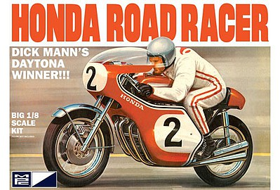 MPC by Ertl Dick Mann Honda 750 Road Racer Motorcycle -- Plastic Model Motorcycle Kit -- 1/8 Scale -- #856-06