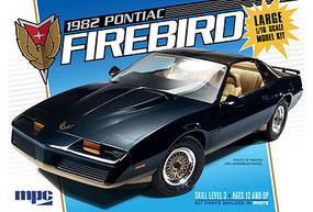MPC 1982 Pontiac Firebird Plastic Model Car Kit 1/18 Scale #858-06