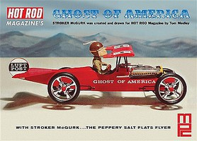 MPC Stroker McGurk Ghost America Flying Car Plastic Model Car Kit 1/18 Scale #866-12
