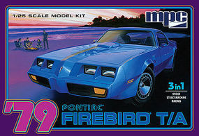 MPC 1979 Pontiac Firebird T/A Plastic Model Car Kit 1/25 Scale #pc820