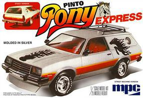 MPC 1979 Ford Pinto Wagon Pony Express Plastic Model Car Truck Vehicle 1/25 Scale #pc845