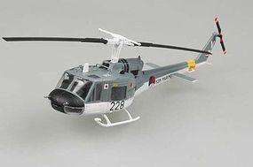 MRC UH1F Huey Czech Helicopter Pre-Built Plastic Model Helicopter 1/72 Scale #36918