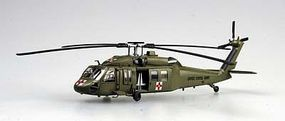 MRC UH60A US Medevac Helicopter Pre-Built Plastic Model Helicopter 1/72 Scale #37018