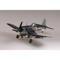 MRC F4U-1 VF-17 Lt. Ike Kepford 1944 Pre-Built Plastic Model Airplane 1/72 Scale #37231