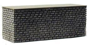 Railstuff Stone Center Bridge Pier Double Track Gray Model Train Bridge HO Scale #1641