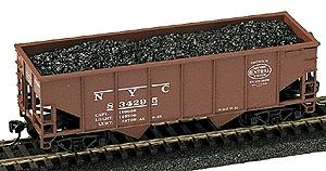 Model Railstuff Coal Load For Athearn 34' 2 Bay Hopper -- Model Train Freight Loads -- HO Scale -- #230