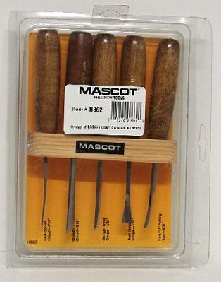 Mascot Precision Tools Woodworking set 5 pc-str