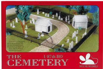 Mouse Models HO Cemetery Kit
