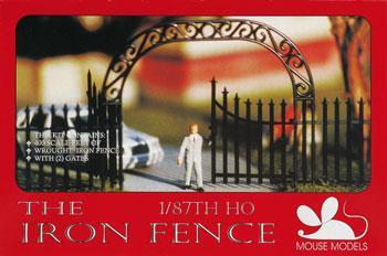 Mouse Models HO Iron Fence