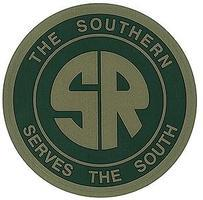 Microscale 4 Die-Cut Vinyl Stickers - Southern Railway Model Railroad Print Sign #20009