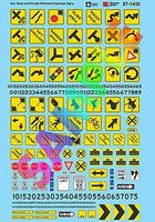 Microscale Misc. Road Signs, Parking Signs & Clearance Signs N Scale Model Railroad Decal #601430