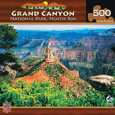 Masterpiece Grand Canyon North Rim 500pcs -- Jigsaw Puzzle 0-599 Piece -- #30728