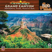 Masterpiece Grand Canyon North Rim 500pcs Jigsaw Puzzle 0-599 Piece #30728