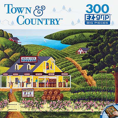 Masterpiece Vineyard Visit 300pcs EZ -- Jigsaw Puzzle 0-599 Piece -- #31677