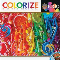 Masterpiece Taste The Rainbow 1000pcs Jigsaw Puzzle 600-1000 Piece #71613