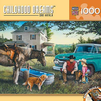 Masterpiece Cowboy Dreams 1000pcs -- Jigsaw Puzzle 600-1000 Piece -- #71647