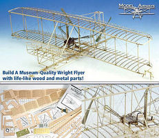 Model-Shipways Wright Flyer Model Airplane Kit 1/16 Scale #1020