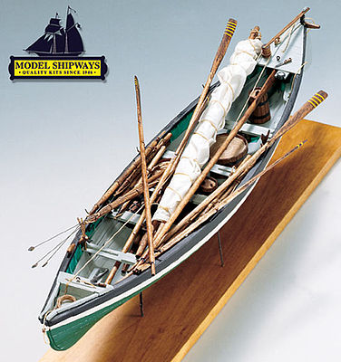 Model Shipways New Bedord Whaleboat 1850 -1870 -- Wooden Model Ship Kit -- 1/16 Scale -- #2033