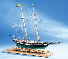 Model-Shipways Pride of Baltimore II Wooden Model Ship Kit 1/64 Scale #2120
