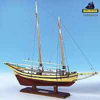 Model-Shipways Glad Tidings Pinky Schooner Wooden Model Ship Kit 1/24 Scale #2180