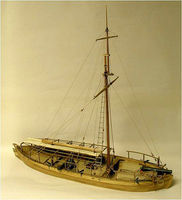 Model-Shipways Gunboat Philadelphia 1776 Wooden Model Ship Kit 1/24 Scale #2263