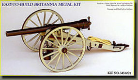 Model-Shipways Whitworth Breech-Loading 12-Pounder Civil War Cannon Model Cannon Kit 1/16 Scale #4001