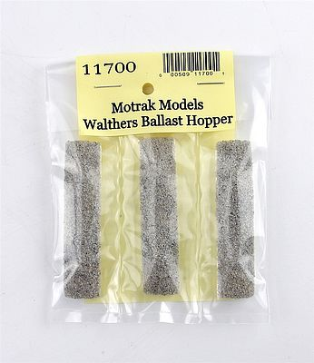 Motrak Models Resin Gravel Loads Walthers Difco Dump Car -- N Scale Model Train Freight Car Load -- #11700