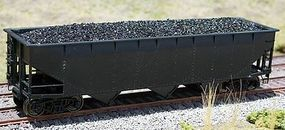 Motrak Coal Loads for Accurail 70 Ton Hopper (2-Pack) HO Scale Model Train Freight Car Load #81102