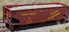 Motrak Marblehead Gravel Loads for Athearn/MDC Ballast Hopper HO Scale Model Train Freight Car #81213