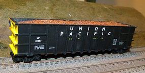 Motrak Scrap Metal Load Athearn/MDC Thrall Hi-Side Gondola (2) HO Scale Model Train Freight Car #8122