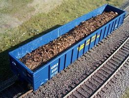 Motrak Scrap Metal Load for Atlas Evans Gondola HO Scale Model Train Freight Car Load #81310
