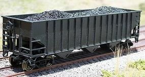 Motrak Coal Loads for Bowser/Stewart 14 Panel Hopper (2) HO Scale Model Train Freight Car Load #81409
