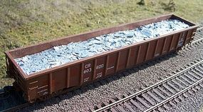 Motrak Scrap Aluminum Load for ExactRail 2244 Gondola HO Scale Model Train Freight Car Load #81513