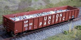 Motrak Scrap Aluminum Load for Walthers 53 Mill Gondola HO Scale Model Train Freight Car Load #81711