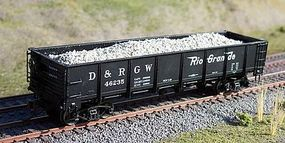 Motrak Gravel Loads for Red Caboose GS DB Gondola (2) HO Scale Model Train Freight Car Load #81907