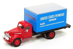 Classic-Metal-Works Box Truck US Plywood