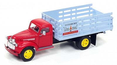 Classic Metal Works Stakebed Truck Blue Coal