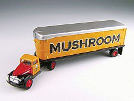 Classic-Metal-Works 41/46 Chevy Tractor Trailer Mushroom HO Scale Model Railroad Vehicle #31166