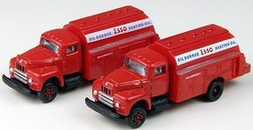 Classic-Metal-Works 1953 Intl Harvester R190 Tank Truck Esso Oil (2) N Scale Model Railroad Vehicle #50340