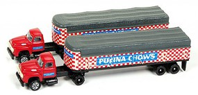 Classic-Metal-Works T/T Cvrd Ralston Purina 2 - N-Scale