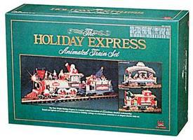 New-Bright Holiday Express Train Set - G-Scale