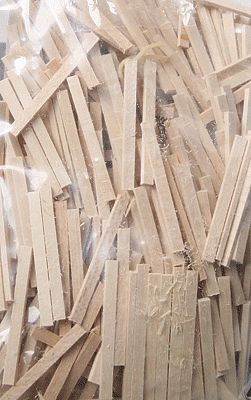Ne Scale Lumber Low Profile Wood Ties Qty 500 Ho Scale