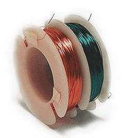Ngineering #38 Magnet Wire (1 Each Red & Green - Each 100) Model Railroad Hook-Up Wire #n5038
