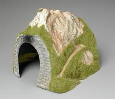 Noch Single Track Straight Tunnel HO Scale Model Railroad Tunnel #02120