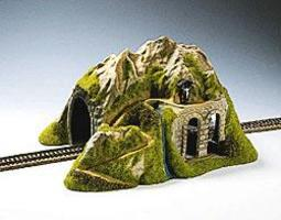 Noch Single Track Straight Tunnel HO Scale Model Railroad Tunnel #02220