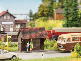 Noch Commercial N Scale Model Railroad Buildings