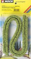 Noch Light Green Hedges 50cm Long (2) Model Railroad Scenery #21512