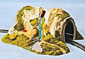 Noch Single Track Straight Tunnel HO Scale Model Railroad Tunnel #2200
