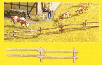 Noch GMBH & Co. Field Fence Kit (18) -- N Scale Model Railroad Accessory -- #33010
